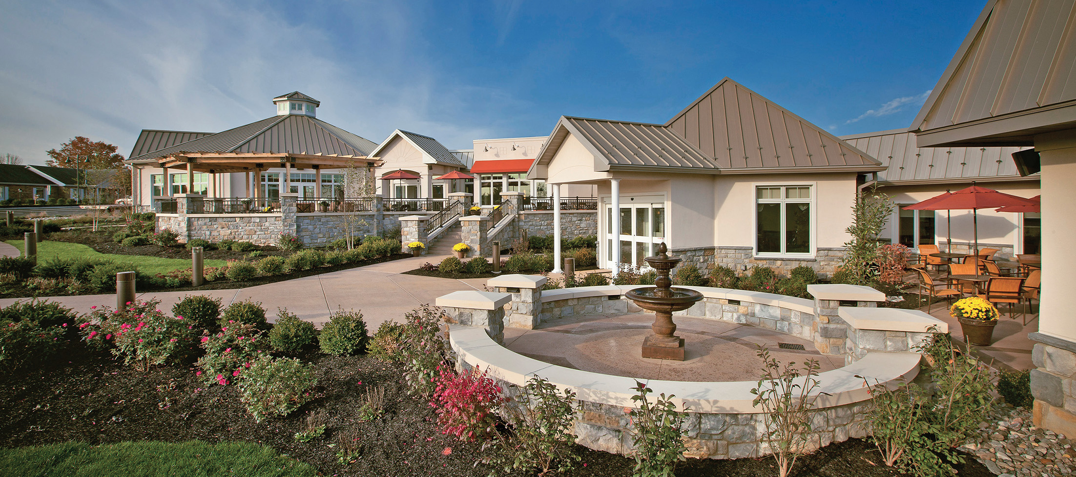 luther acres exterior patios